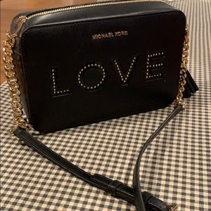 Michael Kors love cross body